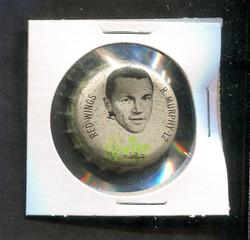 1964 RON MURPHY SPRITE BOTTLE CAP W/CORK  RED WINGS *R1117