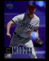 2006 GREG MADDUX UPPER DECK #92 PURPLE F/X #/150 CUBS #5304