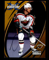 2002 MARION GABORIK IN THE GAME #139 GOLD SIGNATURE SERIES AUTO #4349