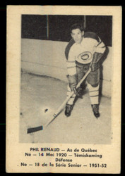 1951 PHIL RENAUD LAVAL DAIRY #18 QSHL EX #5391