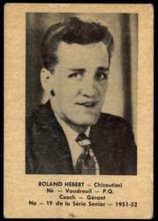 1951 ROLAND HEBERT LAVAL DAIRY #19 QSHL VG #5371