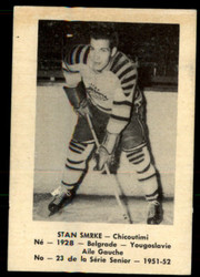 1951 STAN SMRKE LAVAL DAIRY #23 QSHL FR #5184