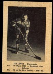 1951 JOSE LEPINE LAVAL DAIRY #46 QSHL EX #5551