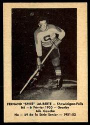1951 FERNAND LALIBERTE LAVAL DAIRY #59 QSHL EXMT #4083