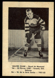 1951 WALTER CLUNE LAVAL DAIRY #96 QSHL EX #3467