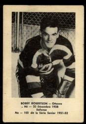 1951 BOBBY ROBERTSON LAVAL DAIRY #103 QSHL VG #5638