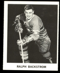 1965 RALPH BLACKSTROM COKE NHL COCA COLA CANADIENS