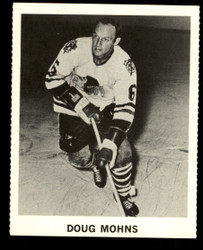 1965 DOUG MOHNS COKE NHL COCA COLA BLACKHAWKS