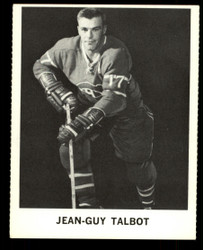 1965 JEAN-GUY TALBOT COKE NHL COCA COLA CANDIENS