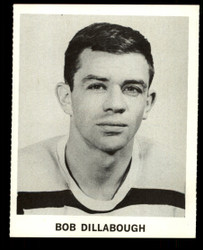 1965 BOB DILLABOUGH COKE NHL COCA COLA BRUINS