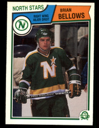 1983 BRIAN BELLOWS OPC #167 O PEE CHEE ROOKIE NORTHSTARS #3461