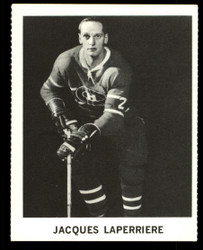 1965 JACQUES LAPERRIERE COKE NHL COCA COLA CANADIENS