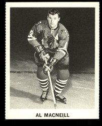 1965 AL MACNEILL COKE NHL COCA COLA BLACKHAWKS
