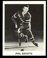 1965 PHIL GOYETTE COKE NHL COCA COLA RANGERS