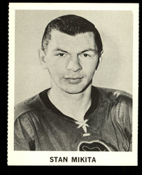 1965 STAN MIKITA COKE NHL COCA COLA BLACKHAWKS