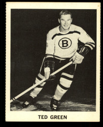 1965 TED GREEN COKE NHL COCA COLA BRUINS