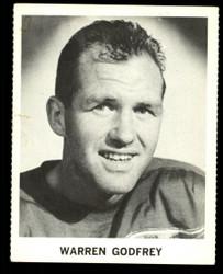 1965 WARREN GODFREY COKE NHL COCA COLA REDWINGS