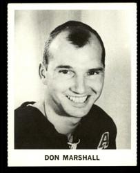 1965 DON MARSHALL COKE NHL COCA COLA RANGERS