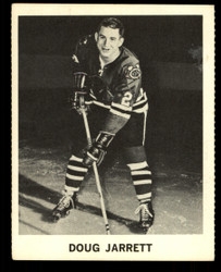 1965 DOUG JARRETT COKE NHL COCA COLA BLACKHAWKS