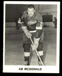 1965 AB MCDONALD COKE NHL COCA COLA REDWINGS