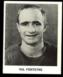 1965 VAL FONTEYNE COKE NHL COCA COLA REDWINGS