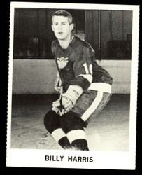1965 BILLY HARRIS COKE NHL COCA COLA REDWINGS