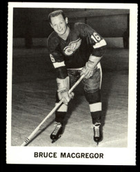 1965 BRUCE MACGREGOR COKE NHL COCA COLA REDWINGS