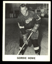 1965 GORDIE HOWE COKE NHL COCA COLA REDWINGS