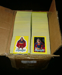 1984 TOPPS SUPERGIRL BULK VENDING CASE