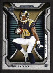2012 BRIAN QUICK  TOPPS STRATA #21  ROOKIE 18 CARD HOBBY LOT RAMS