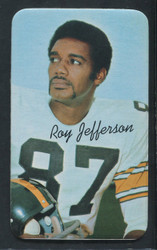1970 ROY JEFFERSON TOPPS SUPER #16 STEELERS EXMT