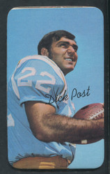 1970 DICK POST TOPPS SUPER #5 CHARGERS EXMT