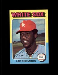 1975 LEE RICHARDS TOPPS MINI #653 WHITESOX NM #4339