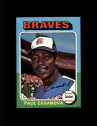 1975 PAUL CASANOVA TOPPS MINI #633 BRAVES NM #4326