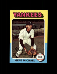 1975 GENE MICHAEL TOPPS MINI #608 YANKEES NM #3899
