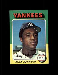 1975 ALEX JOHNSON TOPPS MINI #534 YANKEES NM #2259