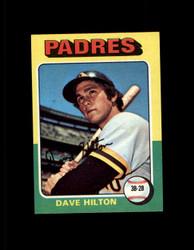 1975 DAVE HILTON TOPPS MINI #509 PADRES NM #3162