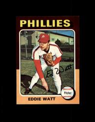 1975 EDDIE WATT TOPPS MINI #374 PHILLIES NM #1611