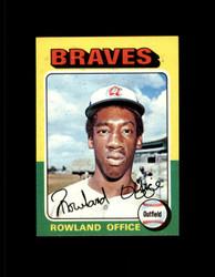 1975 ROWLAND OFFICE TOPPS MINI #262 BRAVES NM #2441