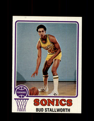 1973 BUD STALLWORTH TOPPS #58 SONICS NM #1557