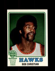 1973 BOB CHRISTIAN TOPPS #11 HAWKS NM #5675