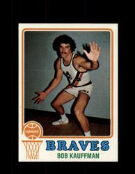 1973 BOB KAUFFMAN TOPPS #116 BRAVES NM #5702