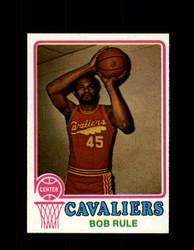 1973 BOB RULE TOPPS #138 CAVALIERS NM #5676