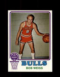 1973 BOB WEISS TOPPS #132 BULLS NM #5705