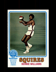 1973 BERNIE WILLIAMS TOPPS #257 SQUIRES NM #5617