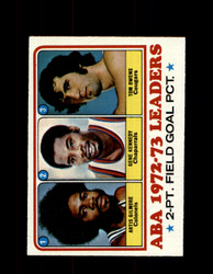 1973 ABA LEADERS TOPPS #235 GILMORE - KENNEDY - OWENS NM #5414