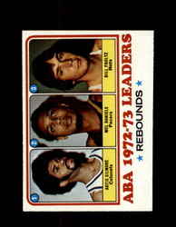 1973 ABA LEADERS TOPPS #238 GILMORE - DANIELS - PAULTZ NM #5440