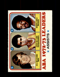 1973 ABA LEADERS TOPPS #239 MELCHIONNI - WILLIAMS - JABALI NM #5450