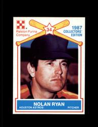 1987 NOLAN RYAN RALSTON PURINA #1 ASTROS #4275