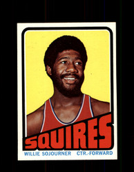 1972 WILLIE SOJOURNER TOPPS #232 SQUIRES NM #5833